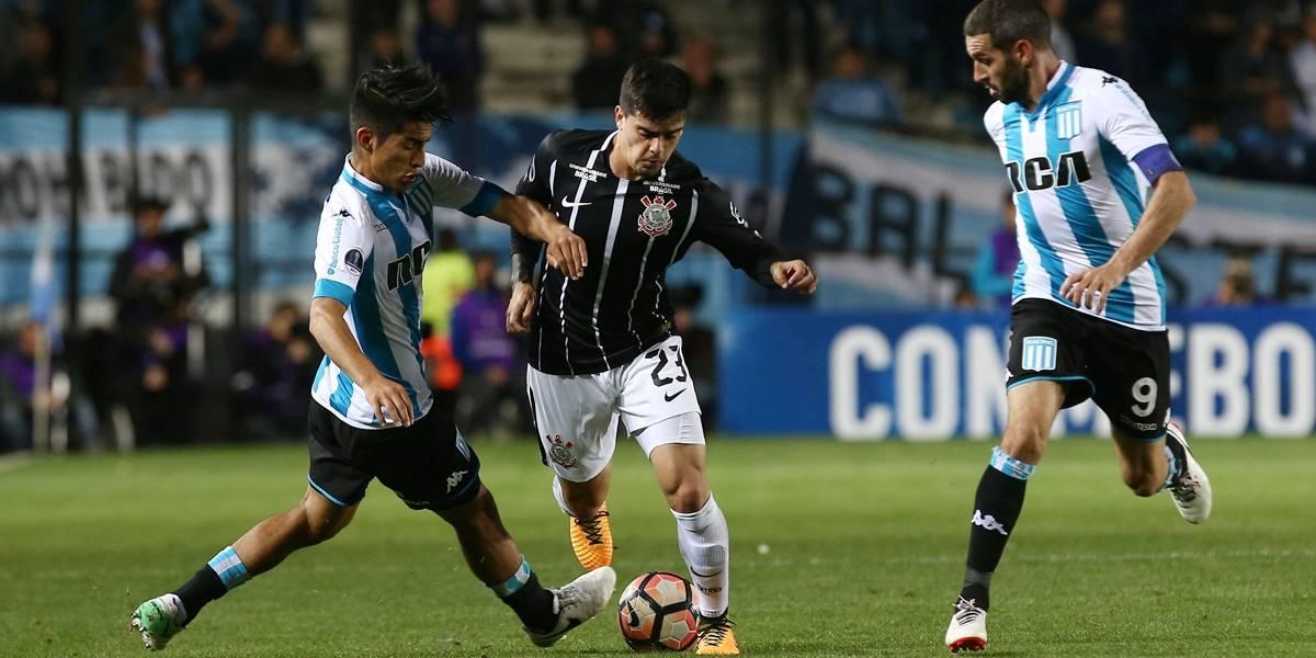 Corinthians só empata com o Racing (ARG) e deixa a Sul-Americana ... a9253d4e2aefc