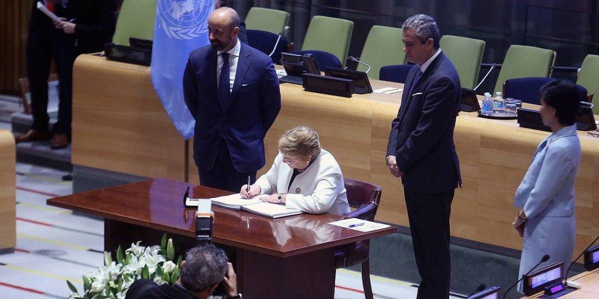 Venezuela se adhirió al Tratado de Prohibición de Armas Nucleares