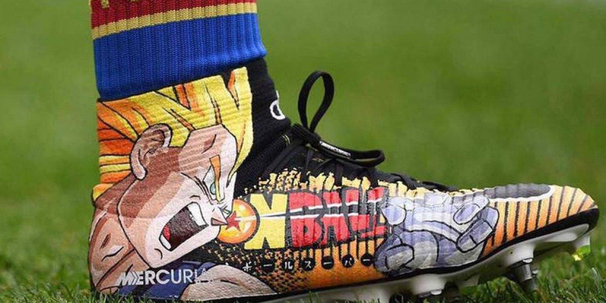 Kame Hame Ha: los zapatos de Dragon Ball en la Premier League que dan la vuelta al mundo