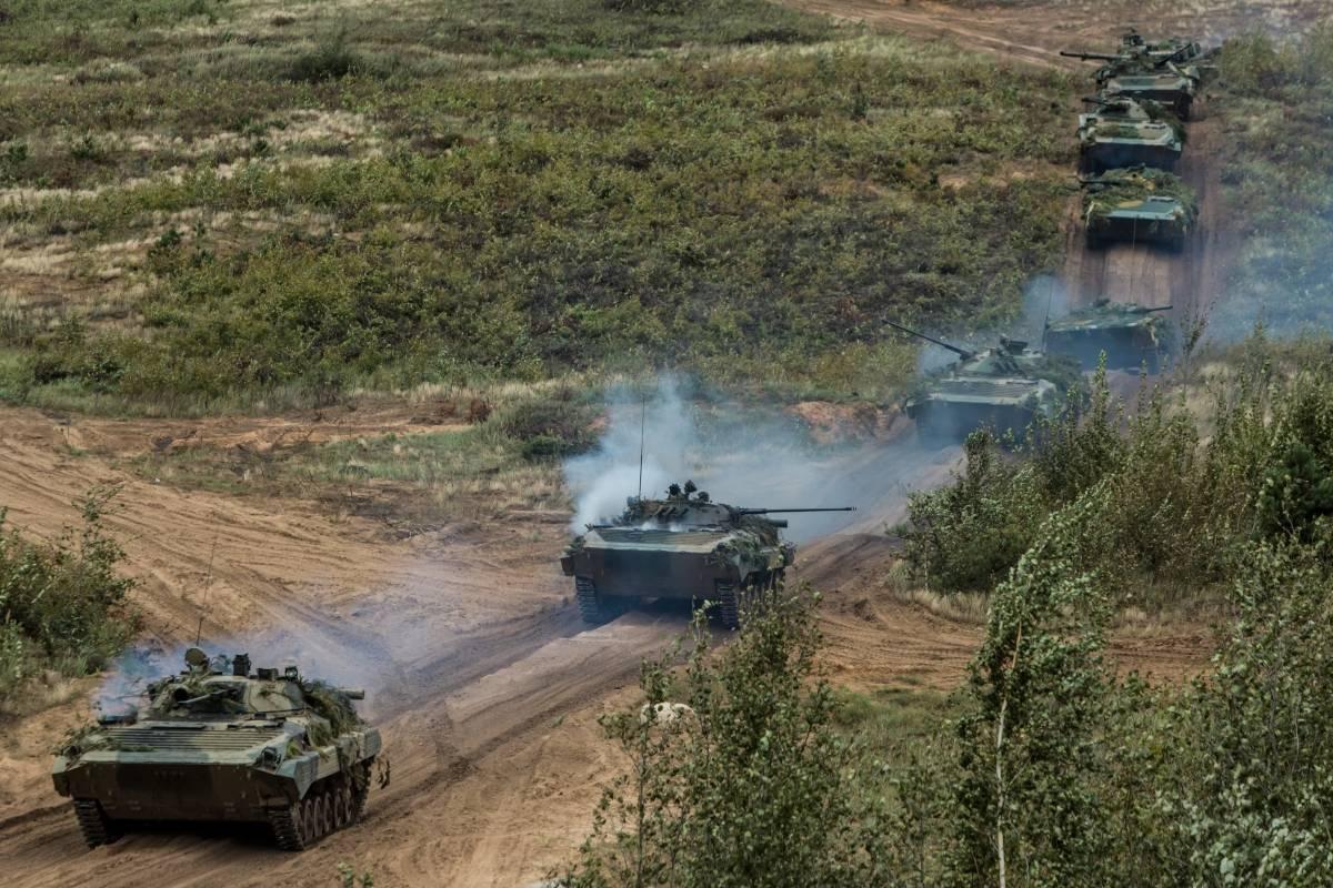 """250 movilizó el ejército ruso para estos ejercicios llamados """"Zapad""""."""