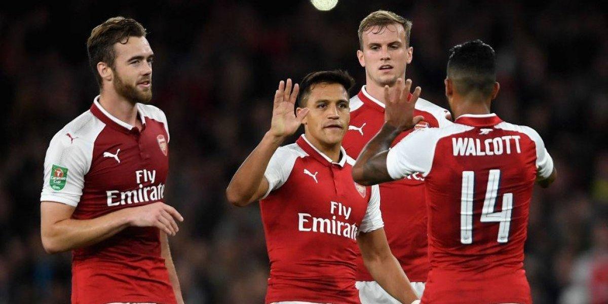 Asi vivimos el triunfo de Arsenal en su debut en la Copa de la Liga