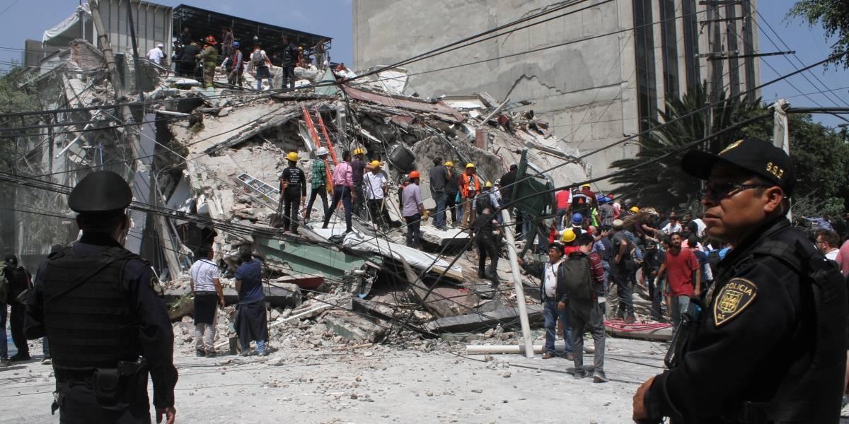 La imagen de Ciudad de México tras el terremoto
