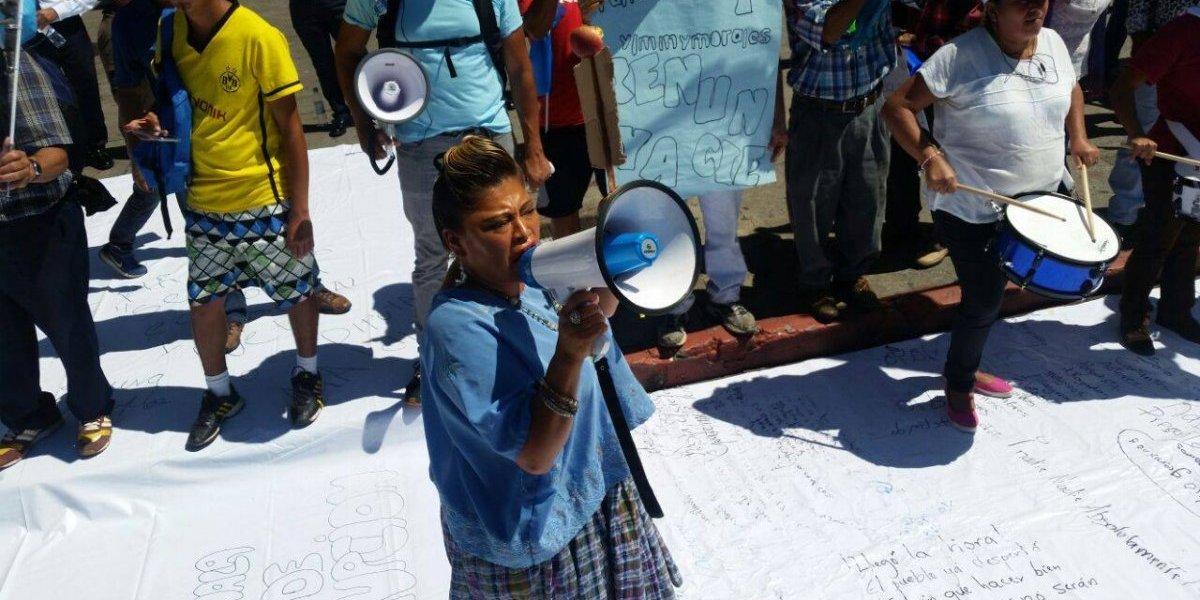 """La """"Pirulina"""" regresa a las manifestaciones y se une al #ParoNacional con estas consignas"""