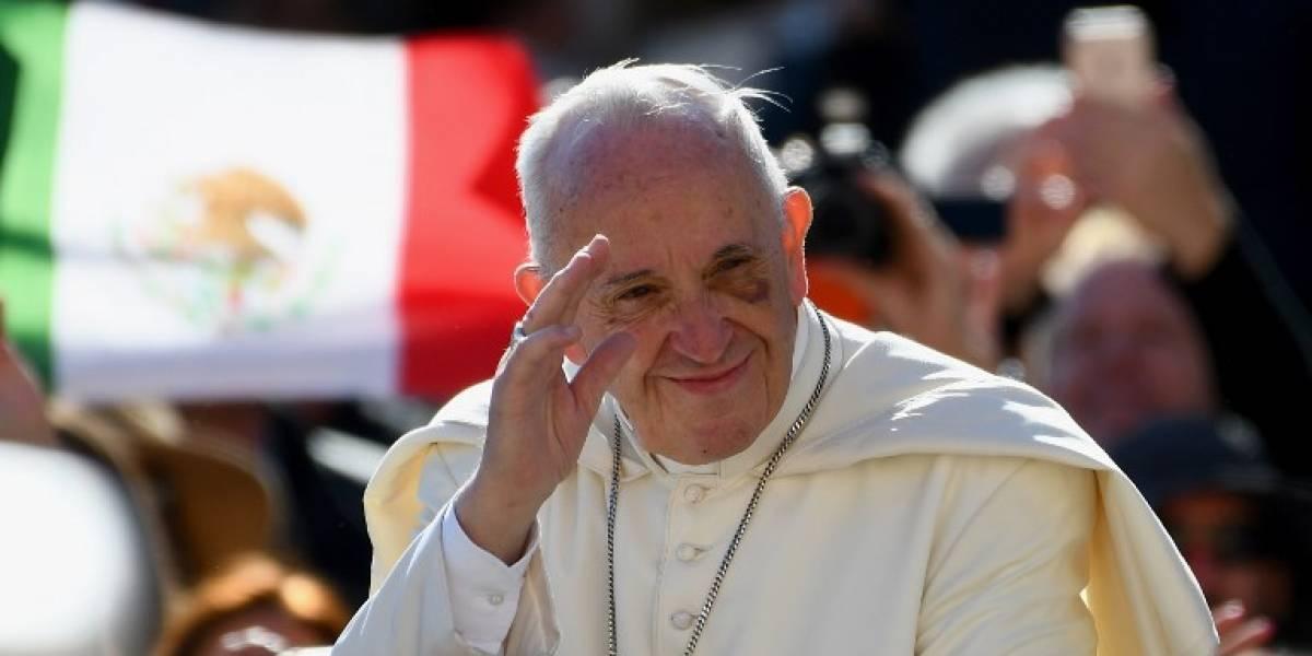 El papa Francisco reza por víctimas y damnificados del terremoto en México
