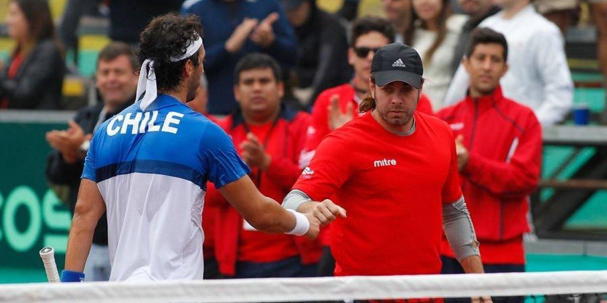 Chile jugará ante Ecuador en la primera ronda de la Copa Davis 2018