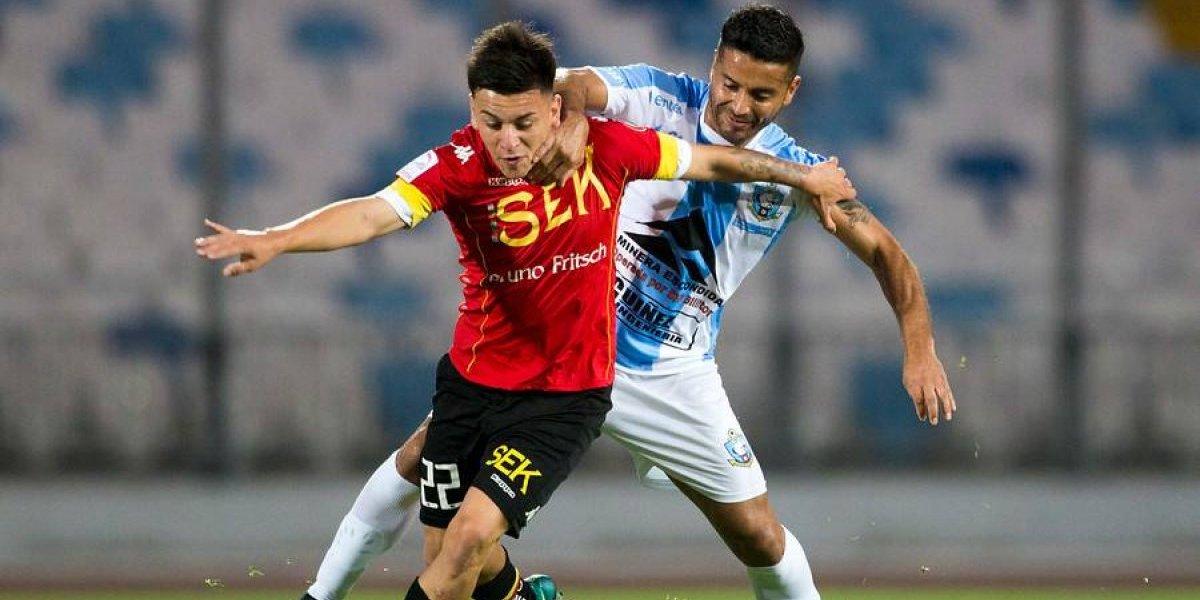 Unión Española rescató empate ante Antofagasta — Sigue invicto