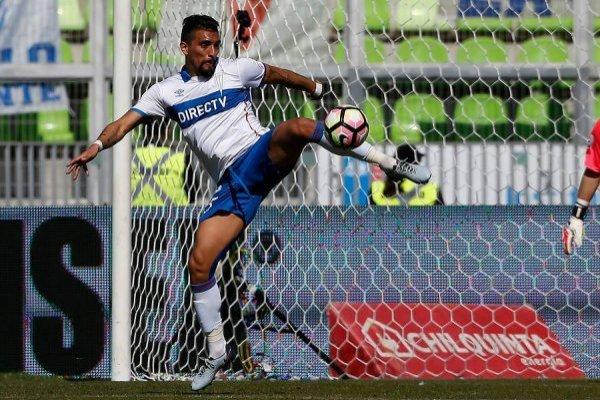 Branco Ampuero llegó a mediados de 2017 a la UC procedente de Deportes Antofagasta / Foto: Photosport
