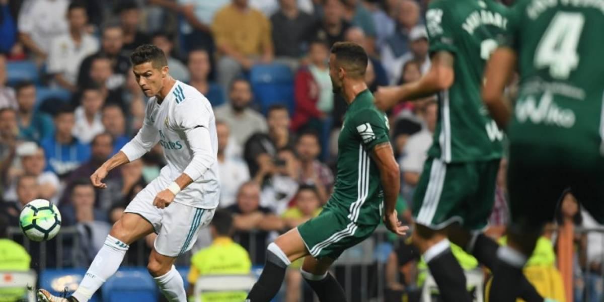 El Madrid naufraga contra el Betis en el Bernabéu