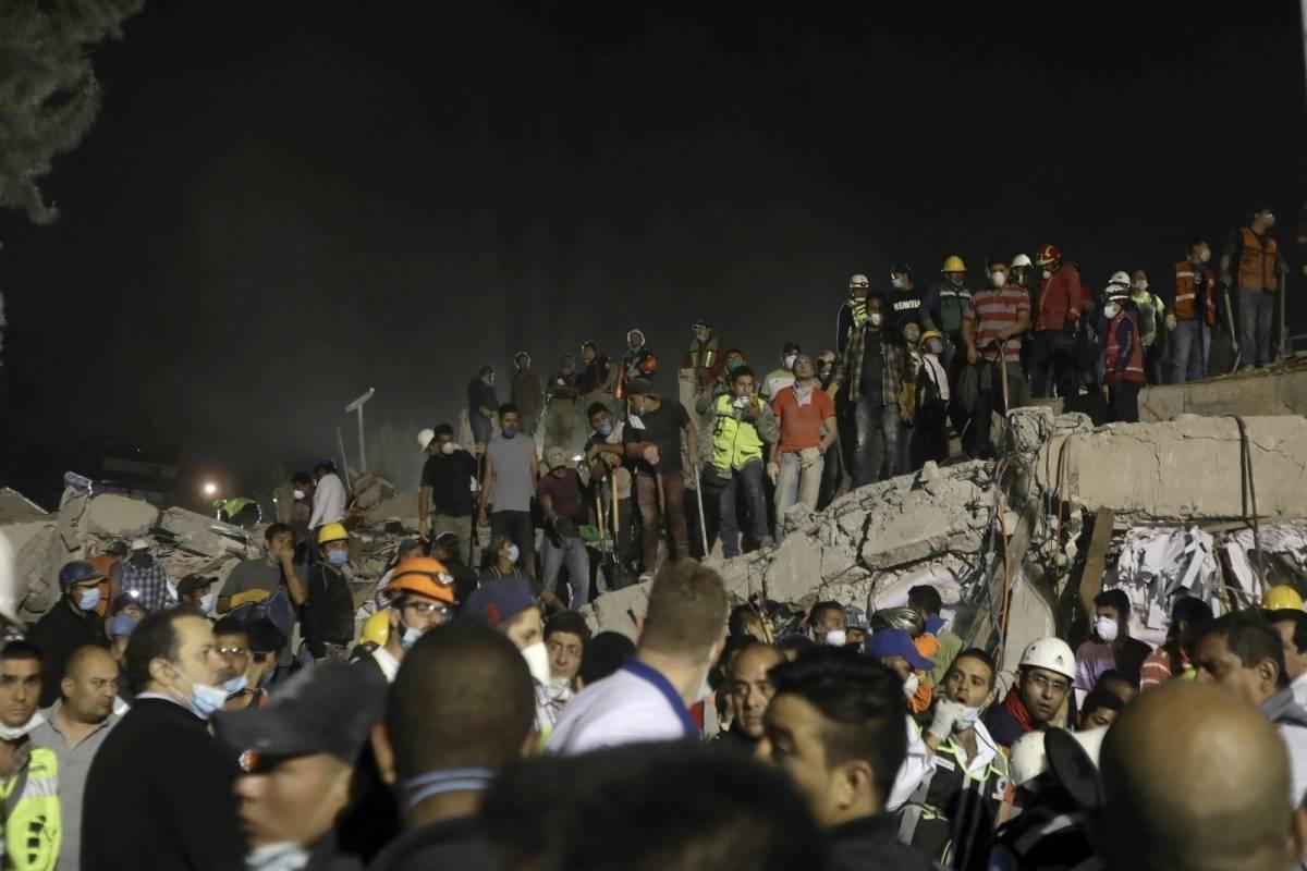 Líderes del mundo envían sus condolencias a México tras el sismo