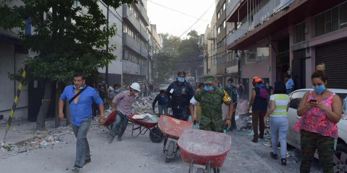 Un terremoto de 7,1 grados sacudió México: reportan 40 muertos
