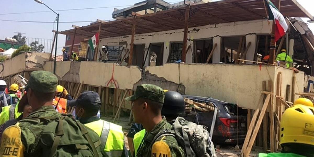 Terremoto en México: sigue minuto a minuto el rescate de los niños atrapados en el Colegio Rébsamen