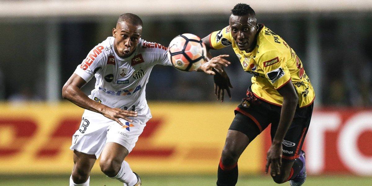 Barcelona SC vence al Santos y se clasifica a la semifinal