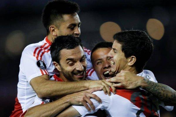River Plate no se cansó de celebrar / imagen: Agencia EFE