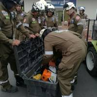 Bomberos de Guayaquil viajan a México