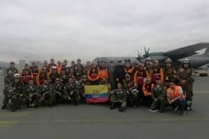 Bomberos viajan a México