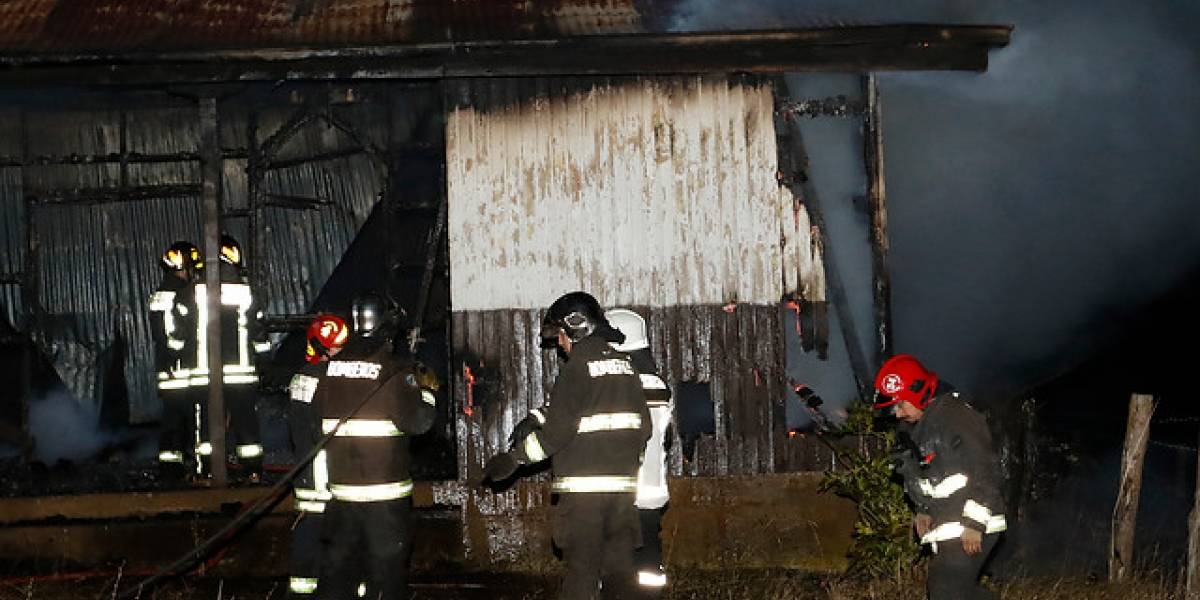 Nuevo atentado incendiario contra iglesia en La Araucanía: la cuarta en 24 horas