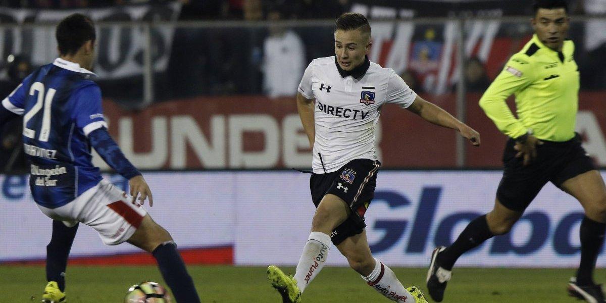 """El juvenil Berríos quiere aprovechar su oportunidad en Colo Colo: """"No se dan mucho"""""""