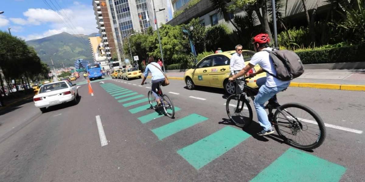 ¿Cuántos estacionamientos para bicicletas existen en Quito?