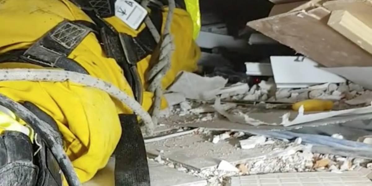 Del infierno a la esperanza: video retrata las 36 horas más difíciles de rescatistas tras terremoto en México