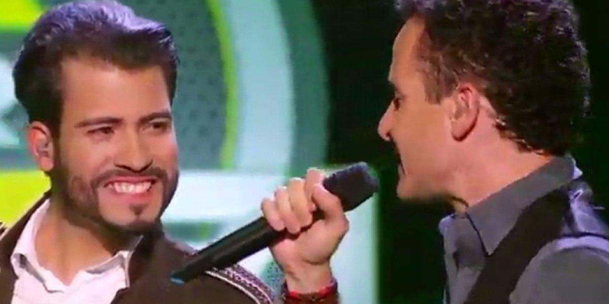 Fonseca conmovió en 'A Otro Nivel' cantando con uno de los participantes