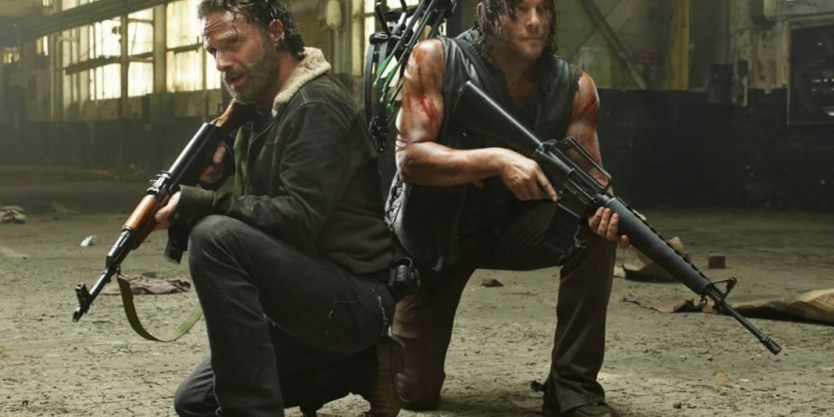 The Walking Dead: Celebran 100 capítulos de la serie sobre zombies