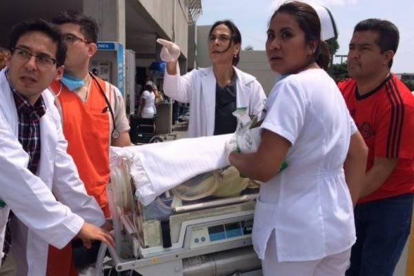 Bebé nació en Morelos durante el sismo