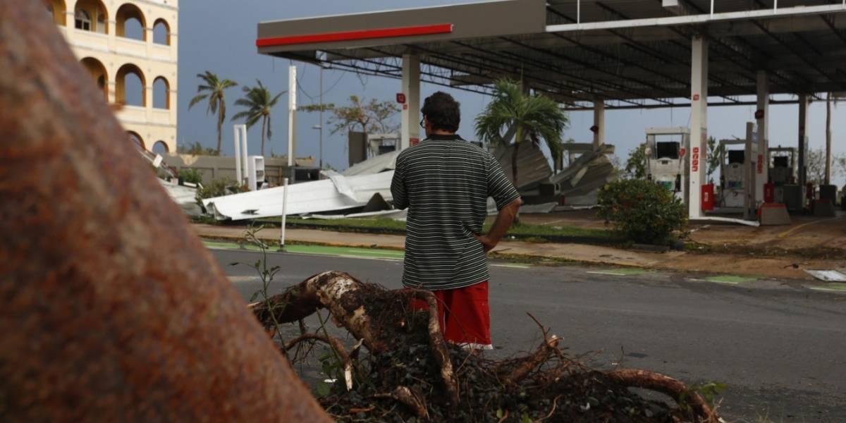Llegó ayuda de EU para Puerto Rico: Devastado