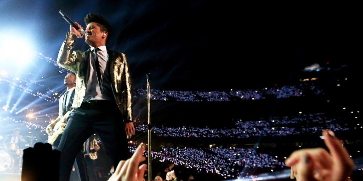Concierto de Bruno Mars se suma a la lista de los más esperados del año