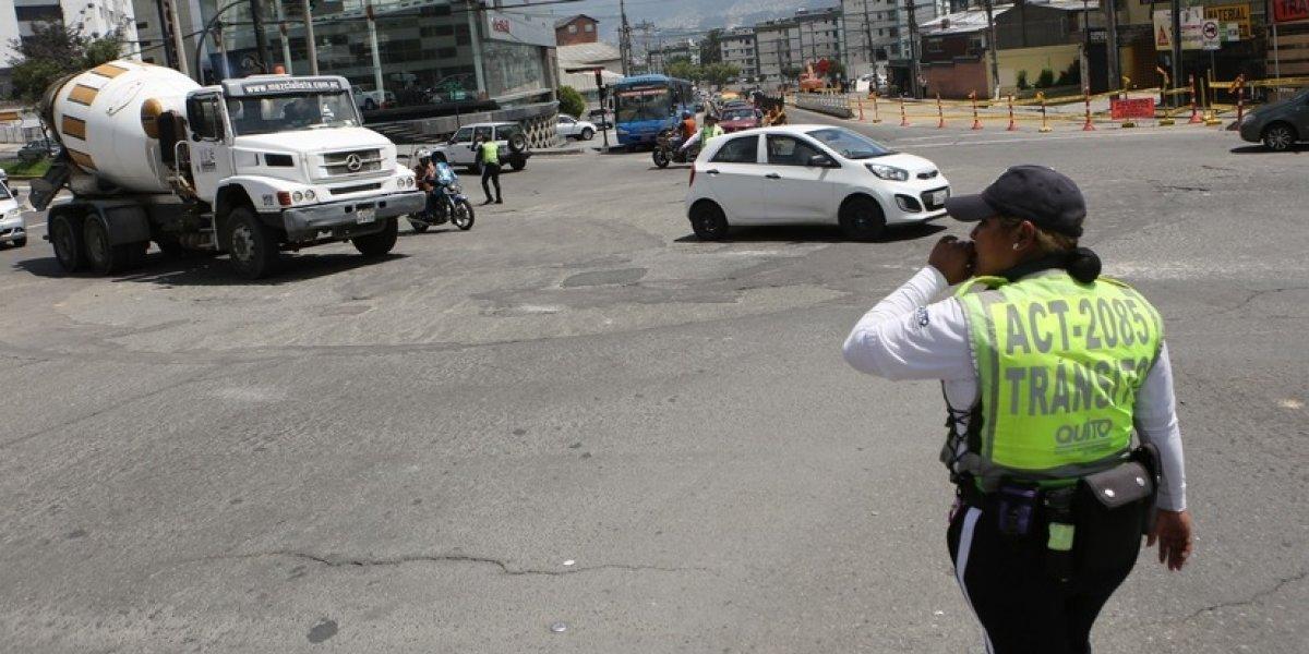 AMT anuncia cierre vial en Av. Eloy Alfaro en Quito