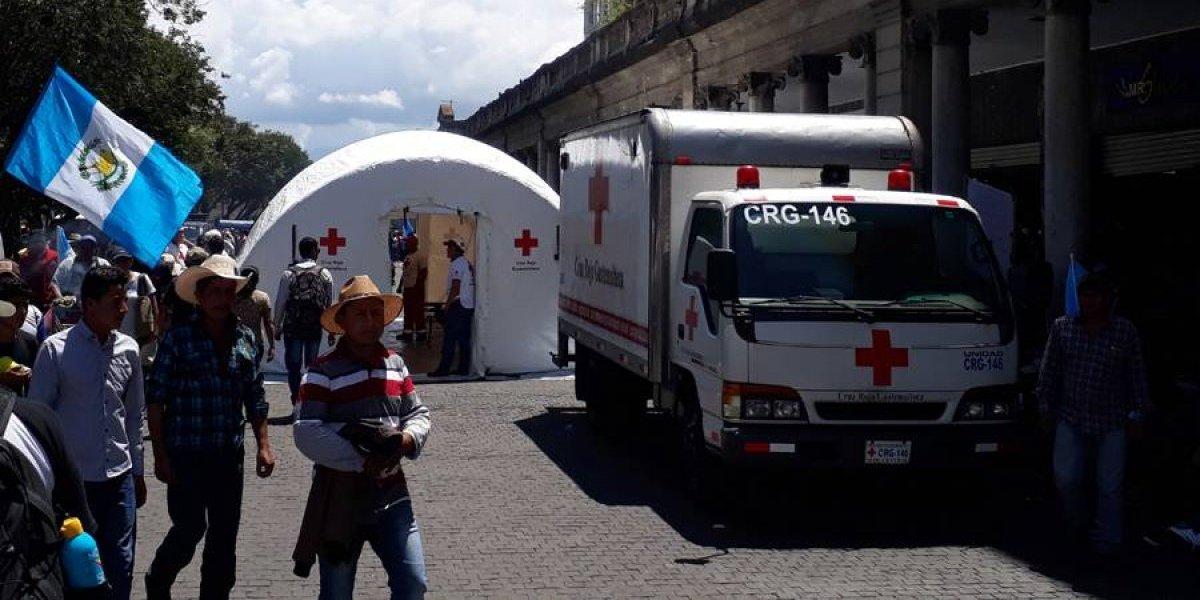 Cruz Roja Guatemalteca atendió a 200 personas durante la #20S