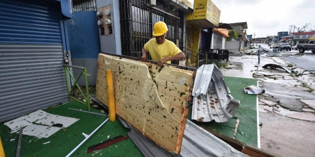 """La """"Tormenta del siglo"""": Huracán María deja """"extensa"""" devastación y un muerto en Puerto Rico"""