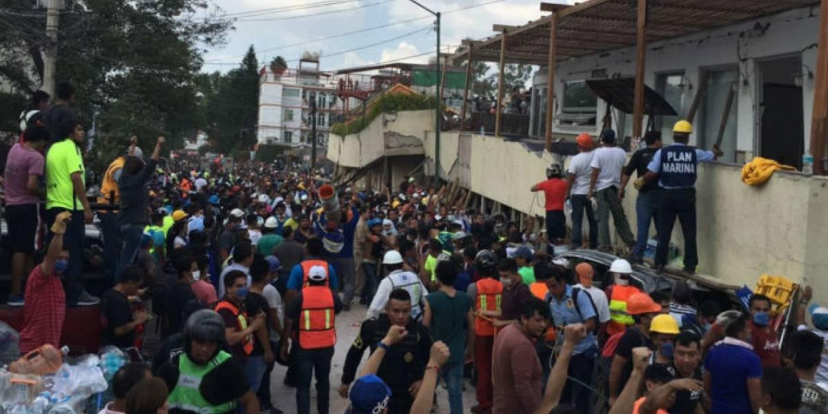 La insólita historia de la inexistente niña Frida Sofía atrapada tras terremoto en México