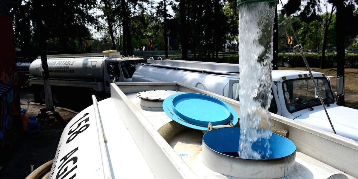 Alertan cortes de agua en delegaciones de CDMX