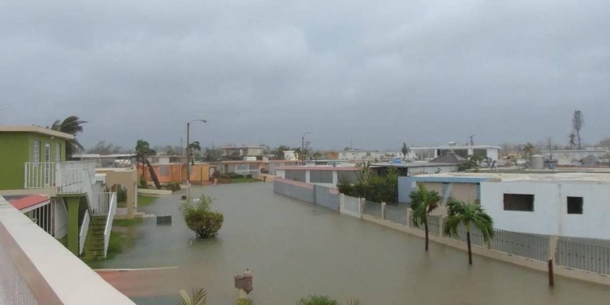 Estragos e inundaciones en Carolina y Canóvanas tras paso de María