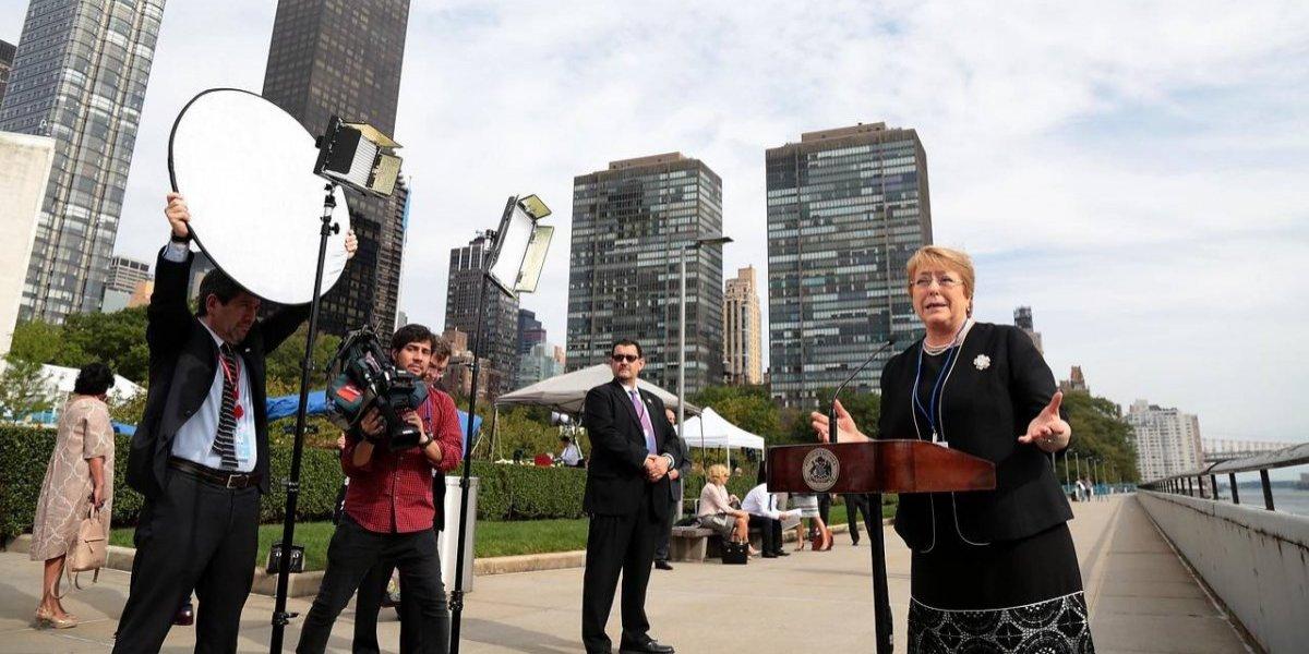 """Bachelet se molestó por críticas a su futura labor en la ONU: """"No se recibe ni un solo peso, es gratis"""""""