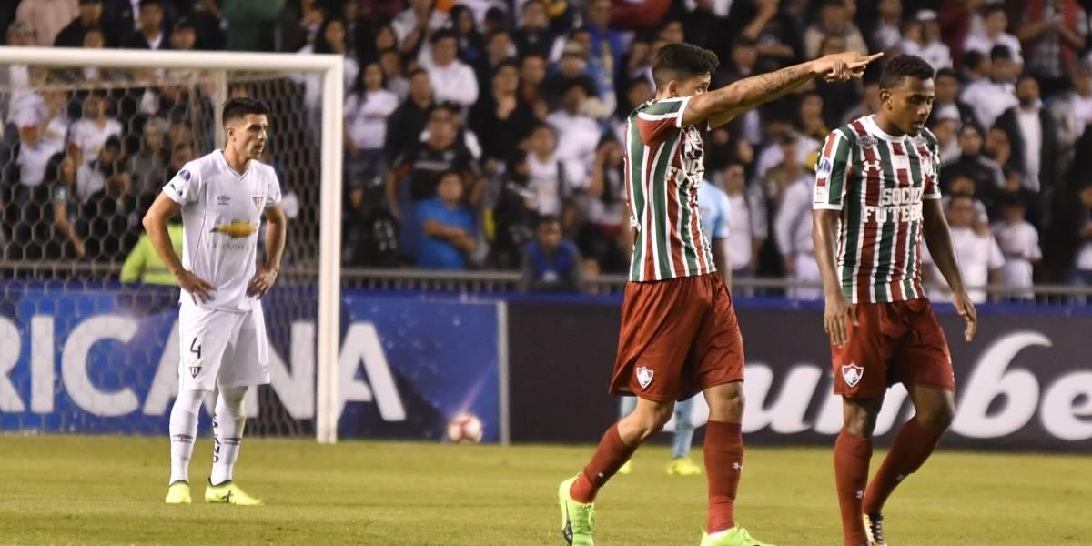 Liga de Quito queda fuera de la Copa Sudamericana
