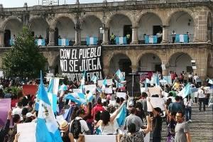 Manifestaciones en el interior del país