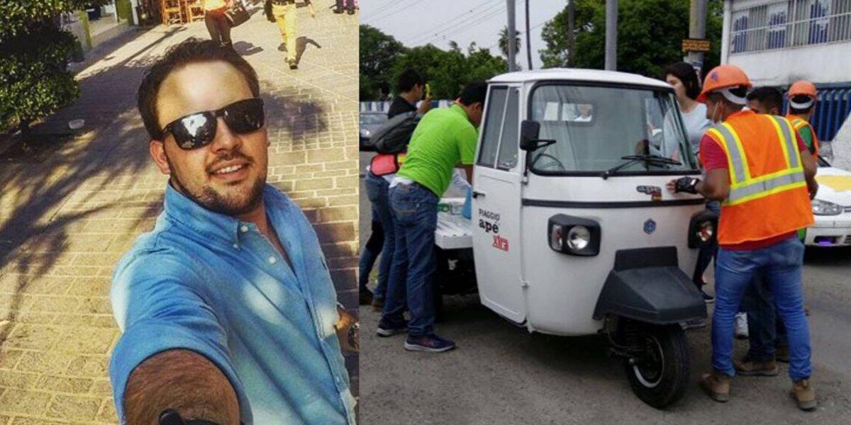 Morelos quedó destrozado y un guatemalteco pone a disposición lo que tiene para ayudar