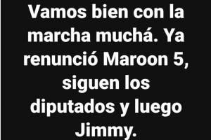 Meme concierto Maroon 5