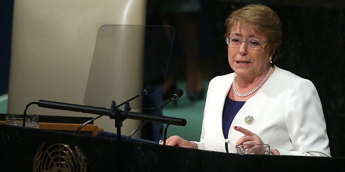 Se encontrará con su futuro jefe: Bachelet se reunirá con el Secretario General de la ONU