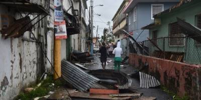 Paso del huracán María por Puerto Rico
