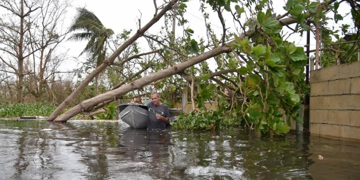 Puerto Rico vive momentos de angustia tras el paso del huracán María