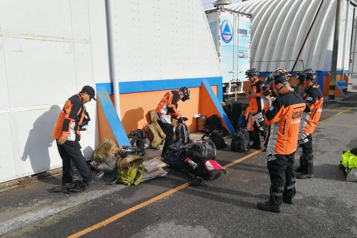 A petición de México, rescatistas guatemaltecos ya no apoyarán