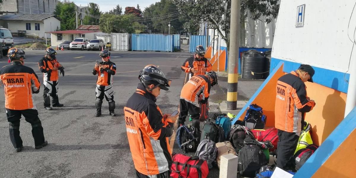 Guatemala envía equipo de rescatistas a México para apoyar luego del terremoto
