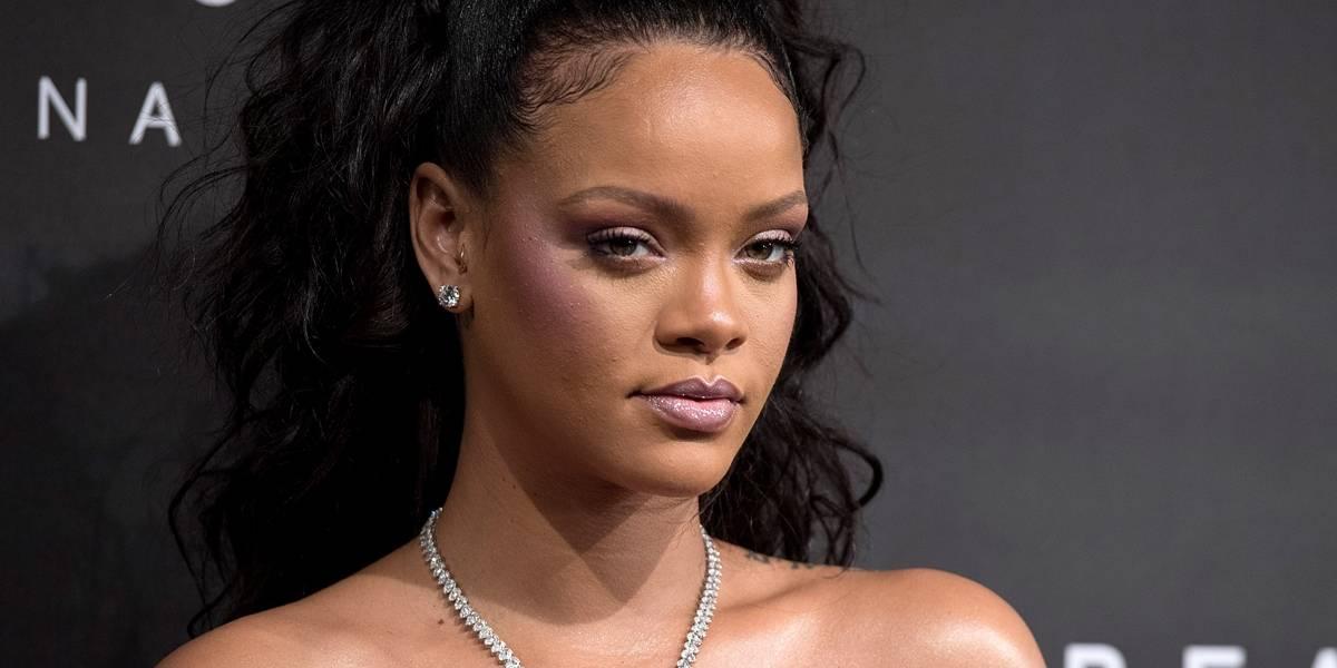 Rihanna lança coleção de maquiagens na Itália; veja fotos