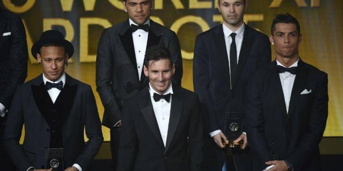 """El trío de oro del fútbol mundial nuevamente cara a cara en los premios """"The Best"""" de la FIFA"""
