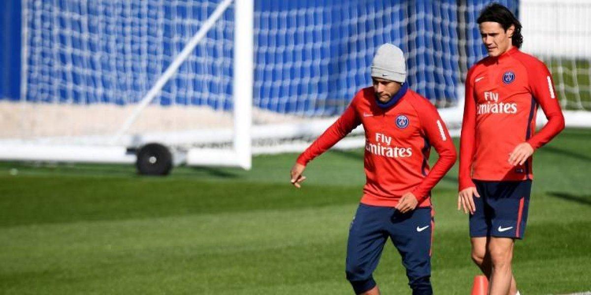 Neymar se baja: no estará en partido del PSG tras su polémica con Cavani