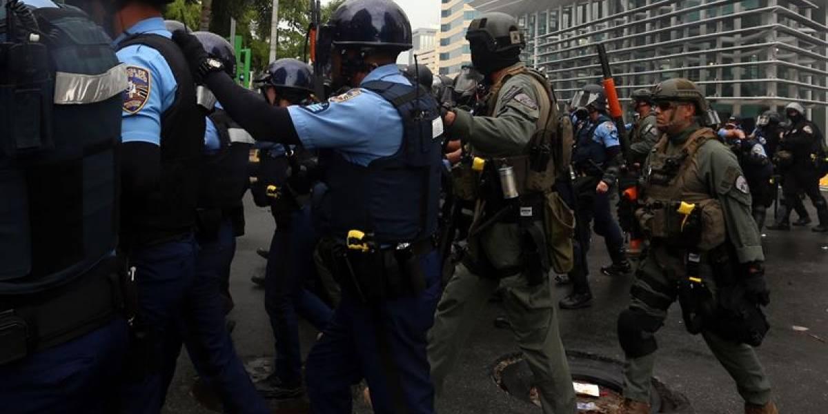 La Policía, a ciegas tras el paso del huracán María