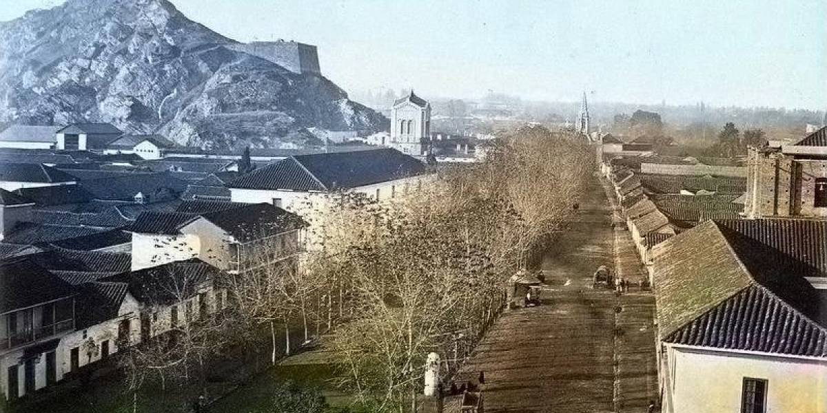 De vertedero a la principal avenida de Santiago: los cambios de la Alameda en su 197 aniversario