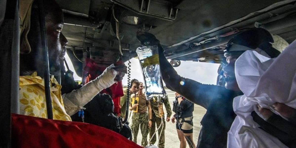 Se accidentó helicóptero con ayuda para los damnificados de sismo de México